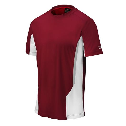 MIZUNO YOUTH ELITE SHORT SLEEVE CREW NECK SHIRT