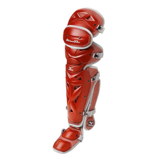 "MIZUNO PRO BASEBALL SHIN GUARDS (17.5"")"
