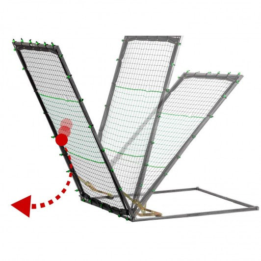 FRANKLIN MLB ADJUSTABLE 1-TOUCH RETURN NET -60""