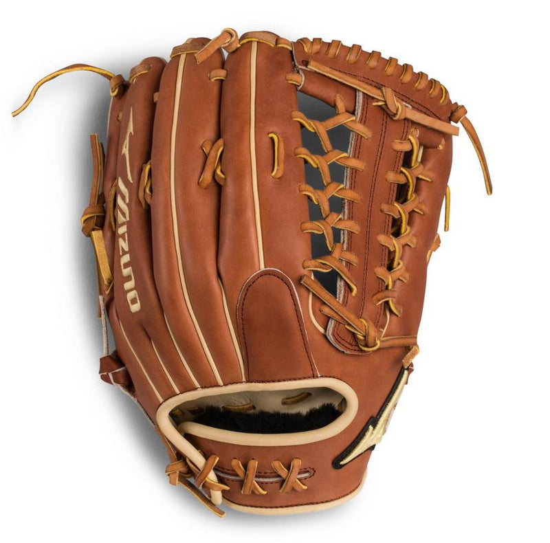 "Mizuno Pro Select Outfield Baseball Glove 12.75"" - Deep Pocket"