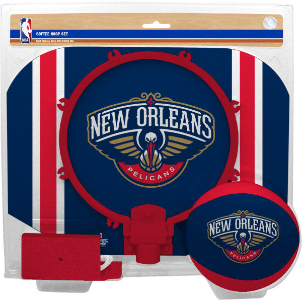Rawlings NBA New Orleans Pelicans Softee Hoop Set - Softee