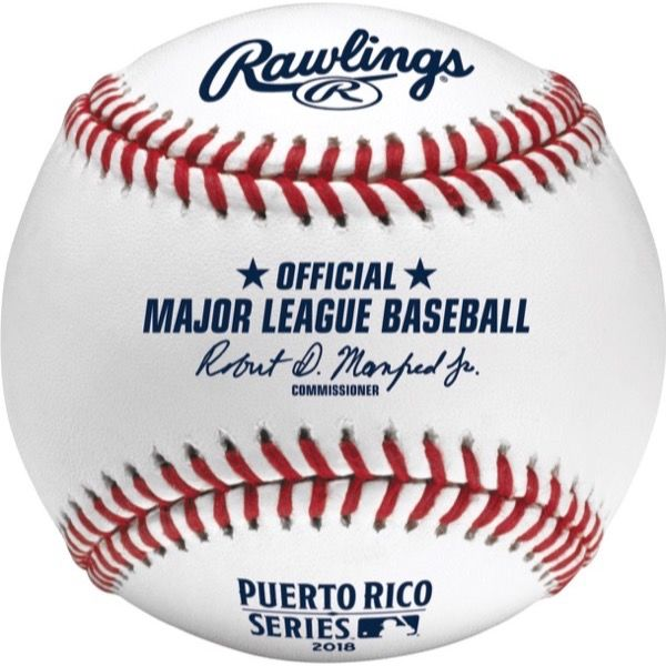 Rawlings Official 2018 MLB® Puerto Rico Series® On-Field Baseball
