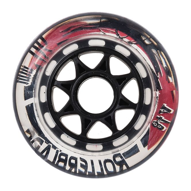 ROLLERBLADE WHEELS PACK 90MM 84A (8PCS)
