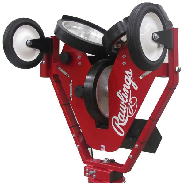 Rawlings Spin Ball Pro 3 Wheel Baseball Pitching Machine -B aseball Only