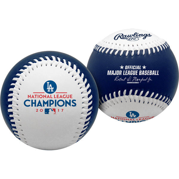 Rawlings 2017 Los Angeles Dodgers National League Champions Replica Baseball