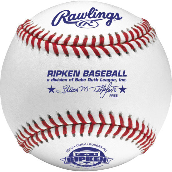 Rawlings Cal Ripken Official Baseballs - Competition Grade Dozen