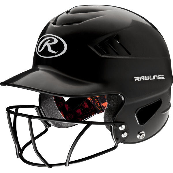 Rawlings Coolflo Batting Helmet with Facemask
