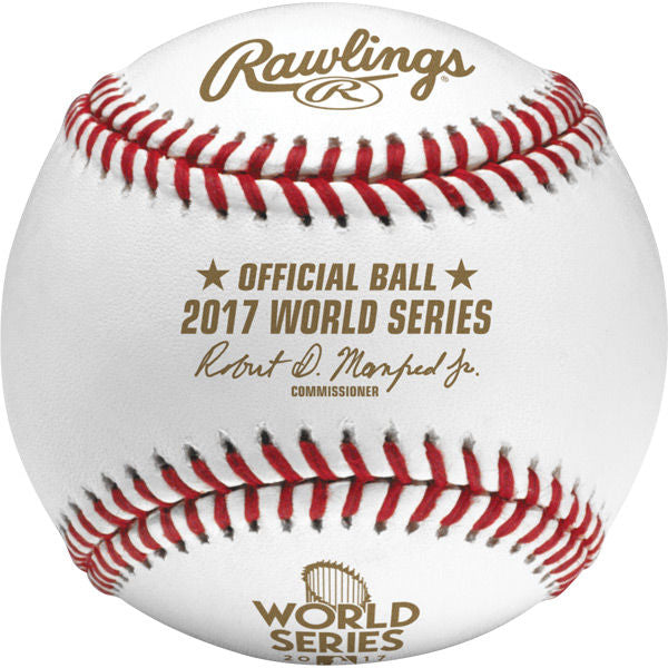 Rawlings Dozen MLB 2017 World Series Baseballs