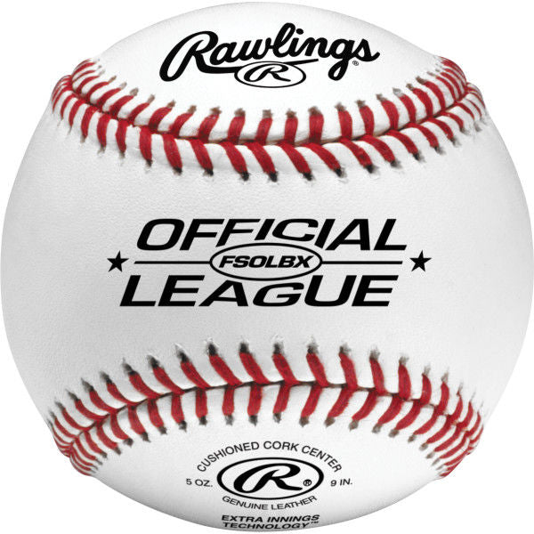 Rawlings Flat Seam Baseballs - Dozen, Composite Center