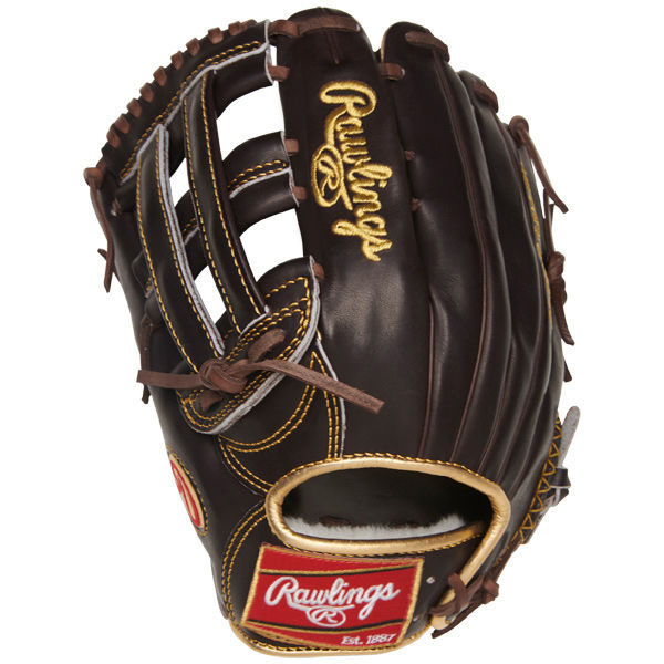 Rawlings Gold Glove 12.75 in Mocha Outfield Glove