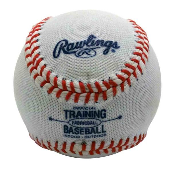 Rawlings Fabric-Covered Training Baseball