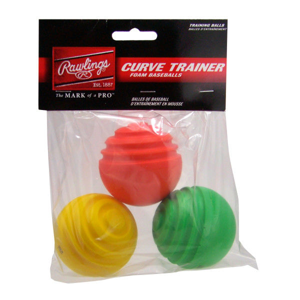 Rawlings Curve Ball Training Balls