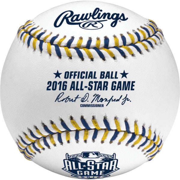 Rawlings MLB 2016 All-Star Baseballs