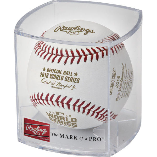 Rawlings MLB 2016 World Series Champions Baseball - Individual, Chicago Cubs