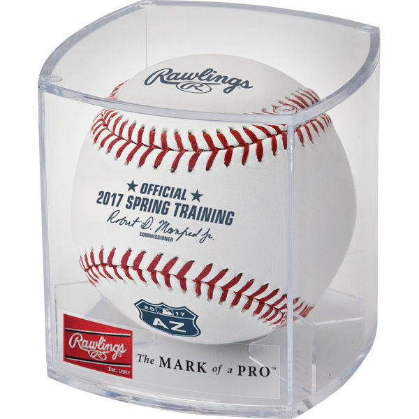 Rawlings MLB 2017 Spring Training Arizona Baseballs - Dozen, Cushioned Center