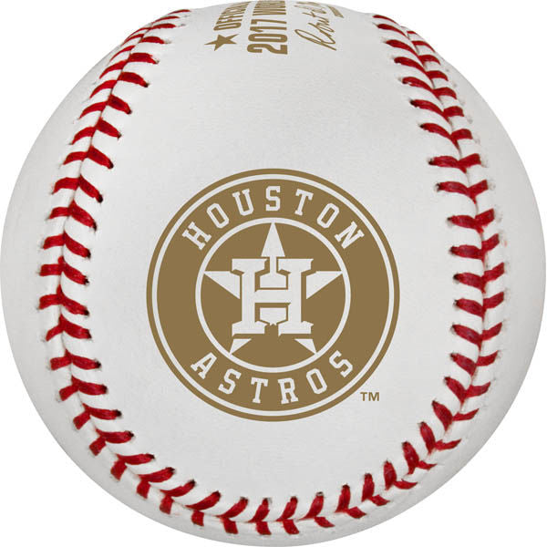 Rawlings MLB 2017 World Series Champions Houston Astros Baseball - Individual