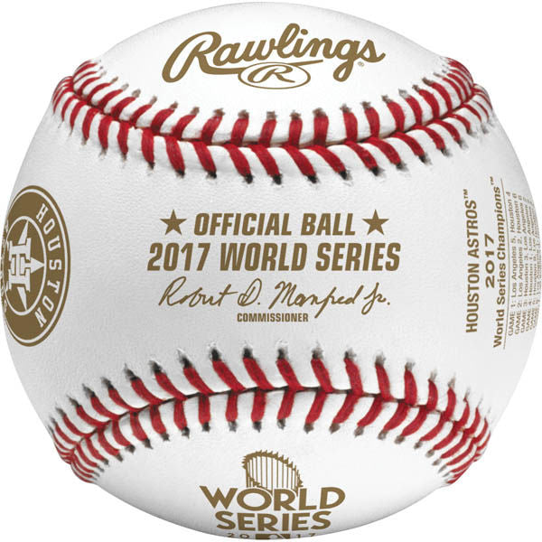 Rawlings MLB 2017 World Series Champions Houston Astros Baseball