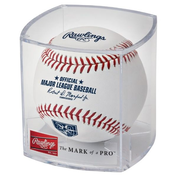 Rawlings MLB 2018 Tampa Bay Rays 20th Anniversary Baseball