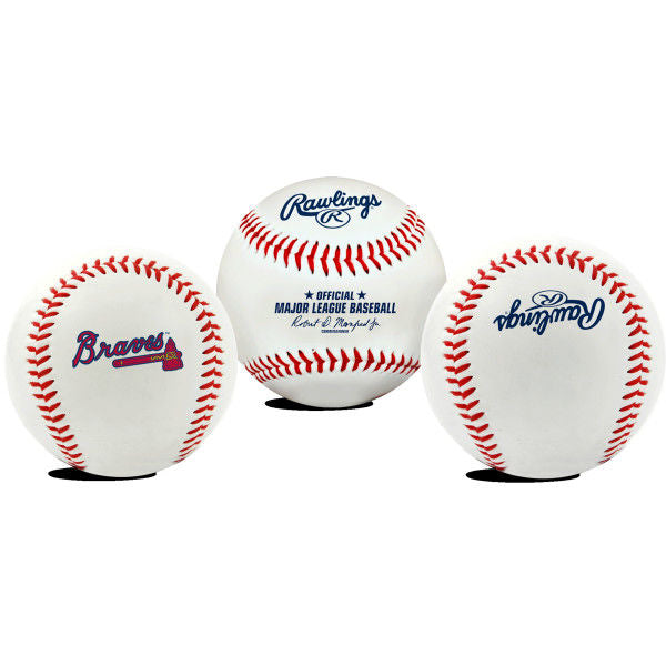 Rawlings MLB Atlanta Braves Baseball - Team Logo