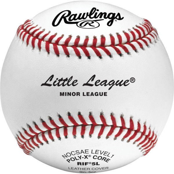 Rawlings RIF Little League Training Baseballs