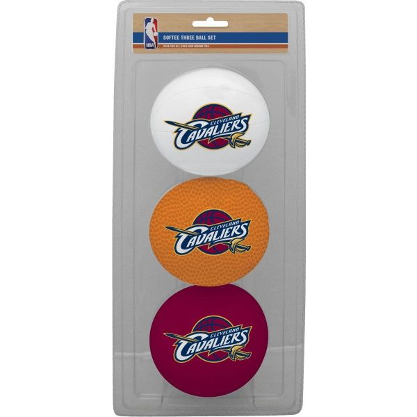 Rawlings NBA Cleveland Cavaliers Three-Point Softee Basketball Set