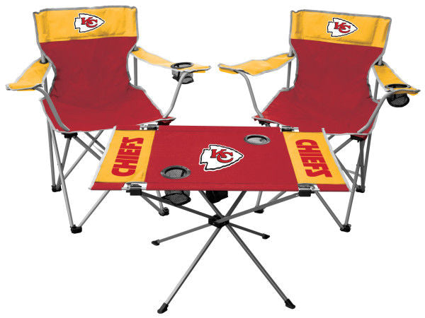 Rawlings NFL Kansas City Chiefs 3-Piece Tailgate Kit