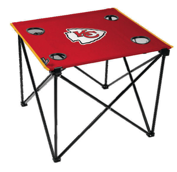 Rawlings NFL Kansas City Chiefs Deluxe Tailgate Table