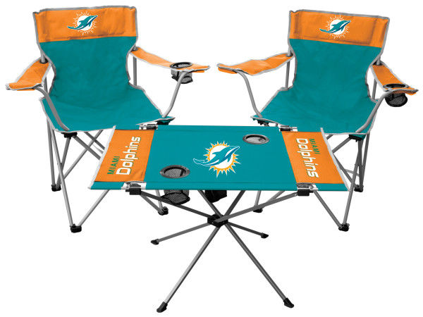 Rawlings NFL Miami Dolphins 3-Piece Tailgate Kit