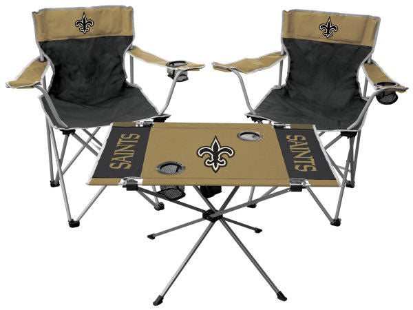 Rawlings NFL New Orleans Saints 3-Piece Tailgate Kit
