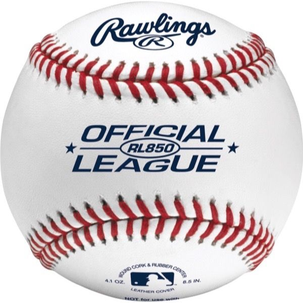 Rawlings Official League 8.5 in Undersized Practice Baseballs