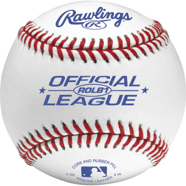 Rawlings Official League Baseballs - Competition Grade