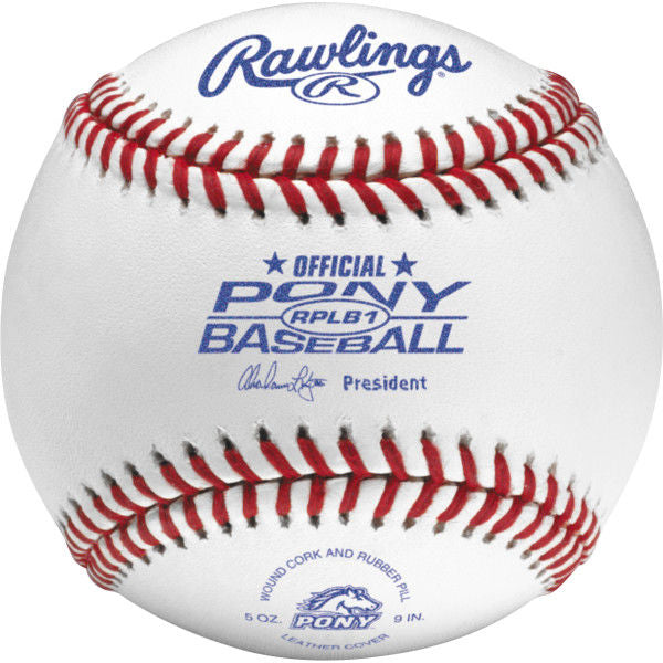 Rawlings Pony Training Baseballs