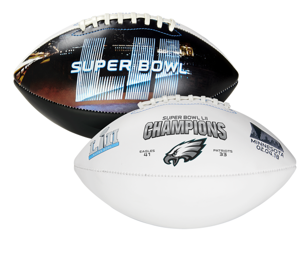 Rawlings Super Bowl 52 Champions Philadelphia Eagles Full Size Football