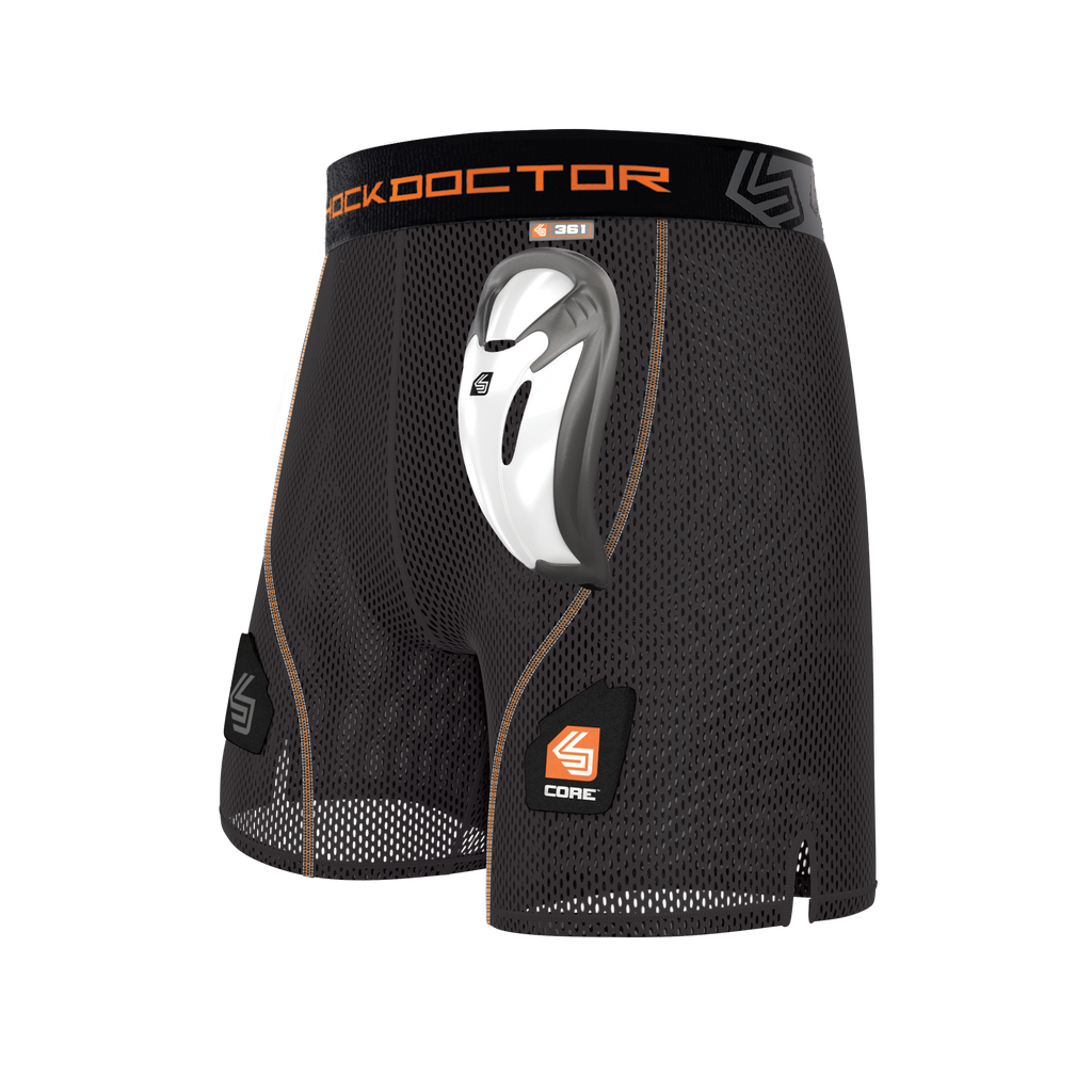 Shock Doctor 361 Core Loose Hockey Short with Bio-Flex Cup
