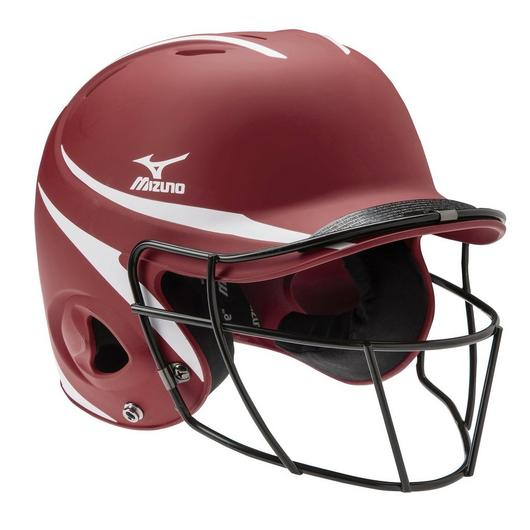 Mizuno Prospect Series Youth Batting Helmet with Faspitch Softball Mask