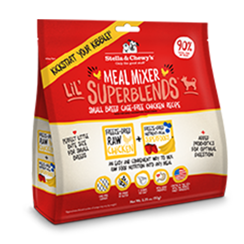 Stella and Chewy's Cage-Free Chicken Recipe Freeze-Dried SuperBlends