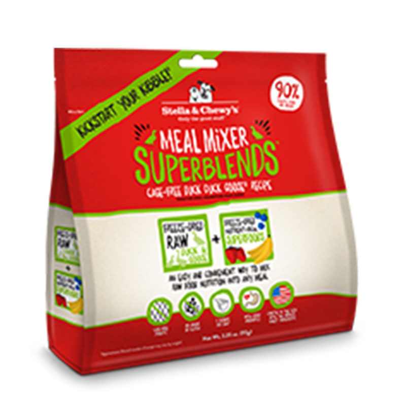 Stella and Chewy's Cage-Free Duck Duck Goose Recipe Freeze-Dried SuperBlends