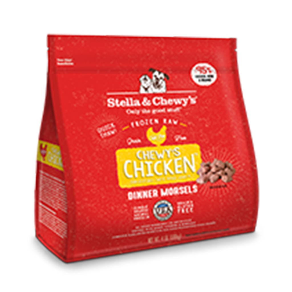 Stella and Chewy's Chewy's Chicken Frozen Raw Dinner Morsels