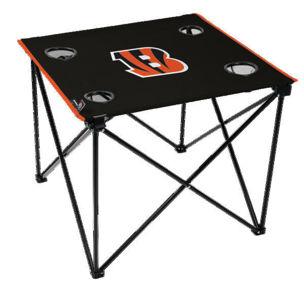 Rawlings NFL Cincinnati Bengals Deluxe Tailgate Table