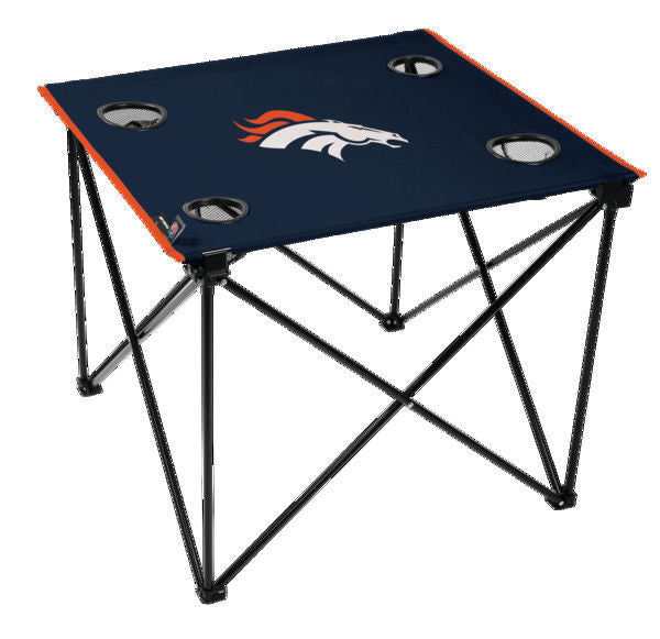 Rawlings NFL Denver Broncos Deluxe Tailgate Table