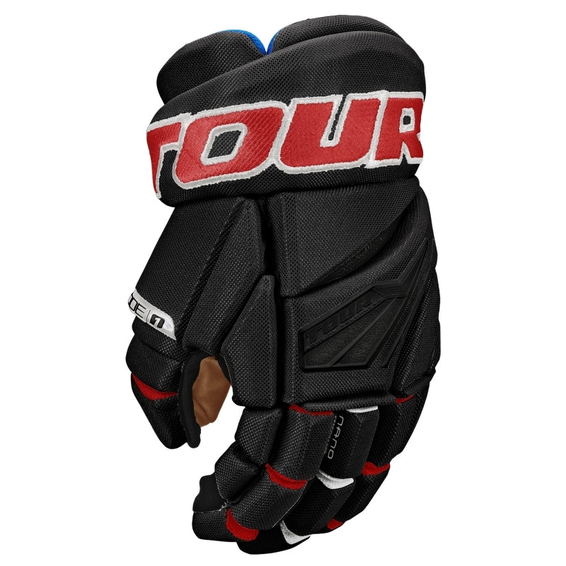 Tour Code 1 Hockey Gloves Black/Red