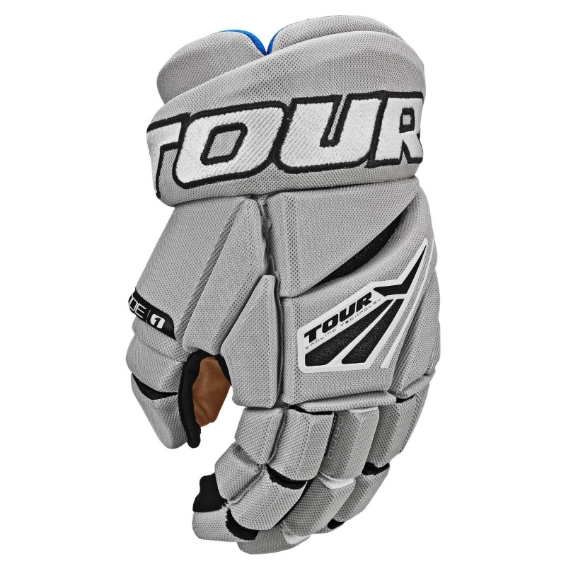 Tour Code 1 Hockey Gloves Grey&Black