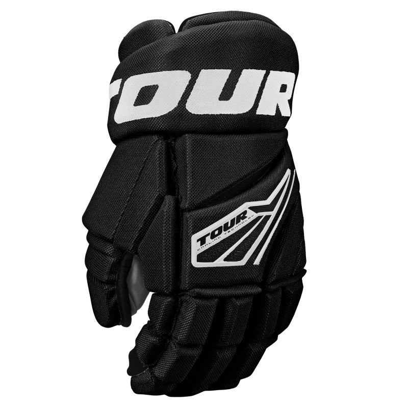 Tour Code 3 Hockey Gloves Black/White