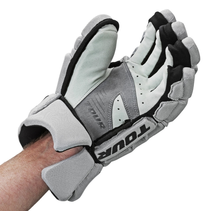 Tour Code 3 Hockey Gloves Grey/Black