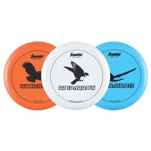 FRANKLIN DISC GOLF - 3 DISC PRO SET