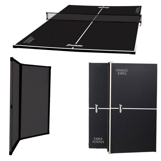FRANKLIN EASY ASSEMBLE TABLE TENNIS COVERSION TOP & NET
