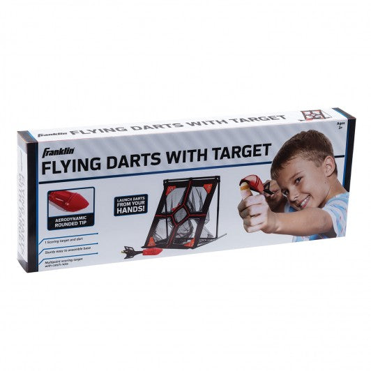 FRANKLIN FLYING DARTS WITH TARGET