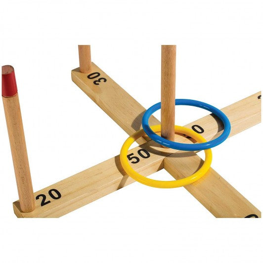 FRANKLIN WOODEN RING TOSS