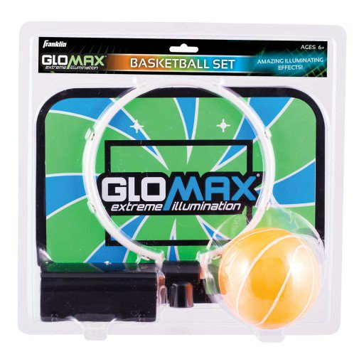 FRANKLIN GLOW IN THE DARK MINI HOOP SET- GLOMAX