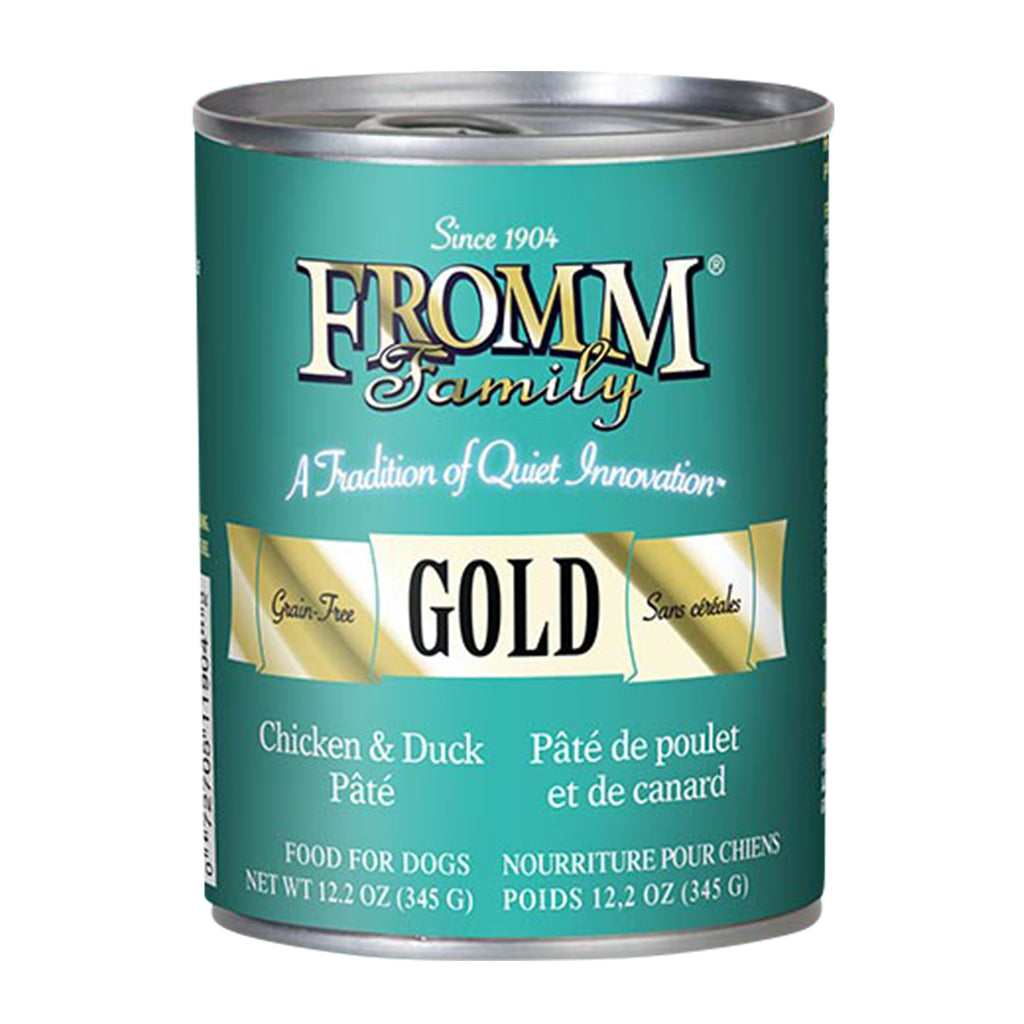 Fromm Gold Chicken & Duck Pâté Canned Dog Food